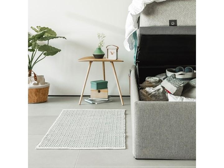 Łóżko Matters 160x200 cm szare Drewno Łóżko tapicerowane Tkanina Kolor Szary Kategoria Łóżka do sypialni