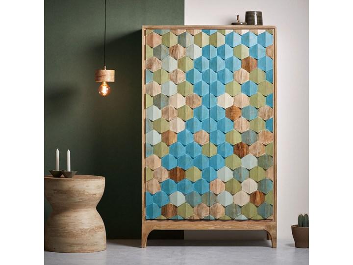 Szafa Ilka 85x140 cm kolorowa Ilość drzwi Dwudrzwiowe Kategoria Szafy do garderoby