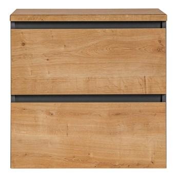 Wisząca szafka łazienkowa pod umywalkę - Moreno 3X 60 cm