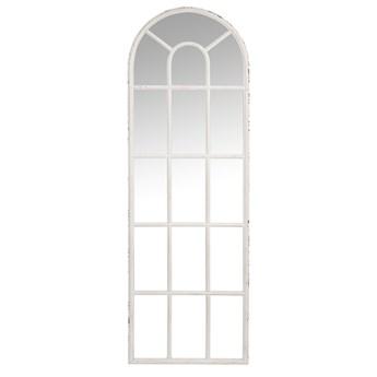 Antyczne lustro Arch, białe, J-Line