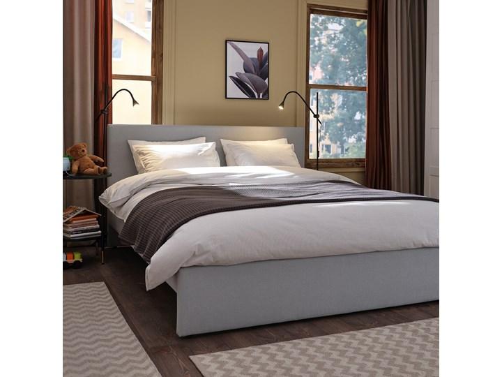 IKEA GLADSTAD Tapicerowana rama łóżka, Kabusa jasnoszary, 160x200 cm Kategoria Łóżka do sypialni Łóżko tapicerowane Tkanina Zagłówek Z zagłówkiem