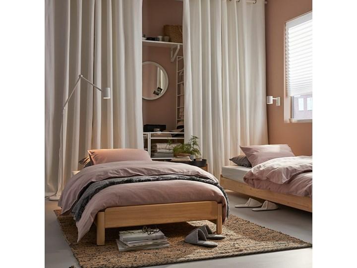IKEA UTÅKER Łóżko sztaplowane, sosna, 80x200 cm Podwójne Kategoria Łóżka dla dzieci Drewno Kolor Beżowy