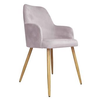 Krzesło Tapicerowane Westa w kolorze różowym