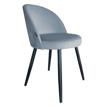 Krzesło Tapicerowane Trix w kolorze szarym
