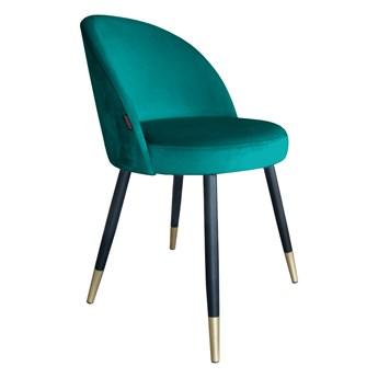 Krzesło Tapicerowane Trix w kolorze zielonym