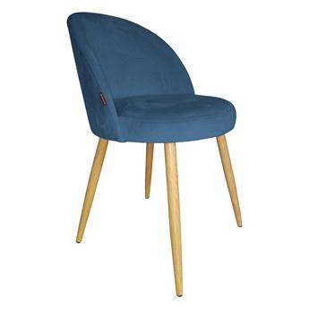 Krzesło Tapicerowane Trix w kolorze niebieskim