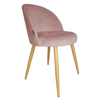 Krzesło Tapicerowane Trix w kolorze różowym