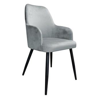 Krzesło Tapicerowane Westa w kolorze szarym