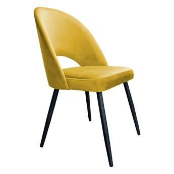 Krzesło Tapicerowane Polo w kolorze miodowym