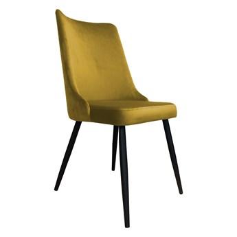 Krzesło Tapicerowane Viktor w kolorze miodowym