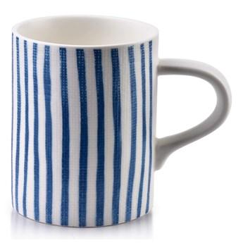 Kubek porcelanowy biało-niebieskim 380ml