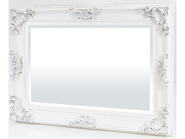 Lustro prostokątne w drewnianej ozdobnej ramie 75,5x105x7cm
