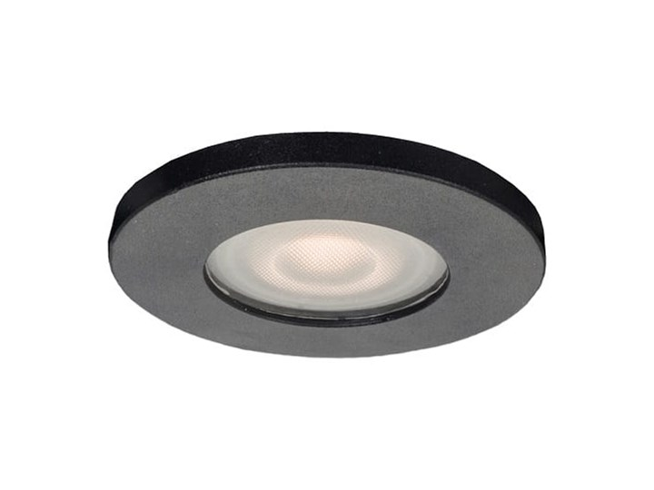 Lagos oczko podtynkowe okrągłe czarne IP65 Oprawa wpuszczana Kolor Czarny Oprawa stropowa Oprawa biurowa Kategoria Oprawy oświetleniowe