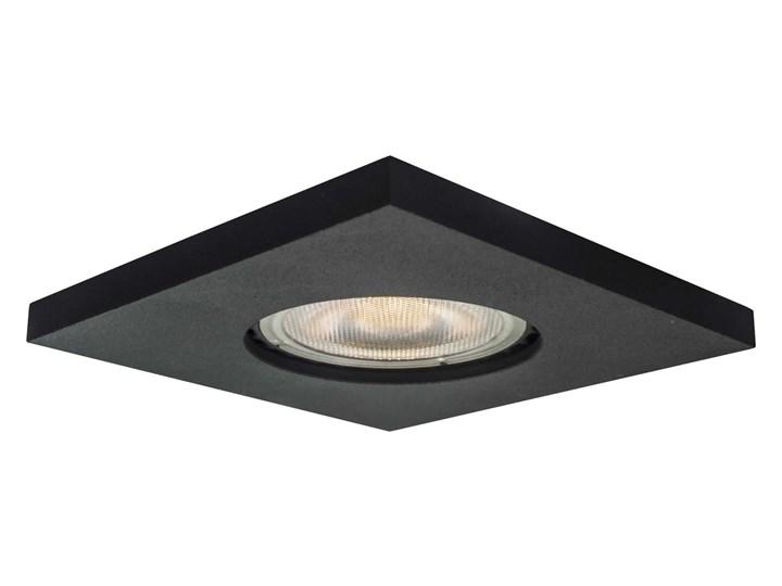 Lagos oczko podtynkowe kwadratowe czarne IP65