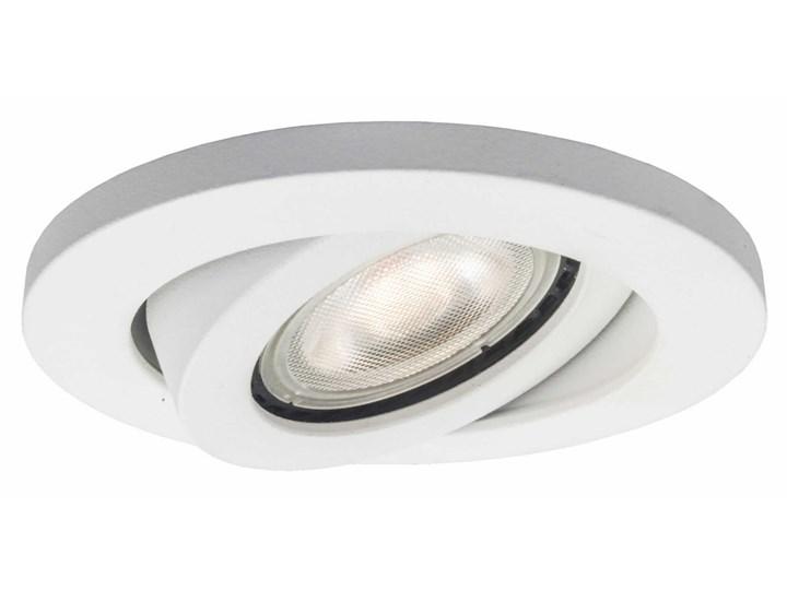 Lagos oczko podtynkowe okrągłe ruchome białe IP20 Oprawa wpuszczana Oprawa biurowa Oprawa stropowa Kolor Biały