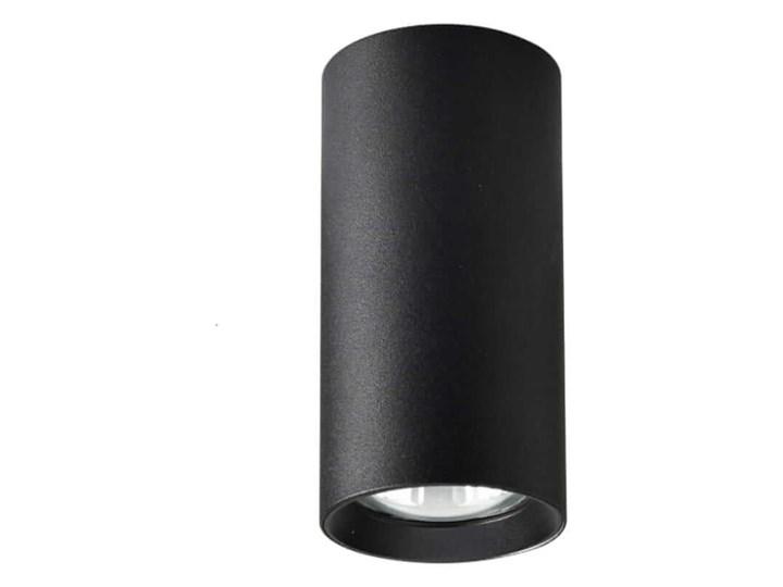 Manacor oczko czarne 17 cm Oprawa biurowa Oprawa stropowa Kolor Czarny