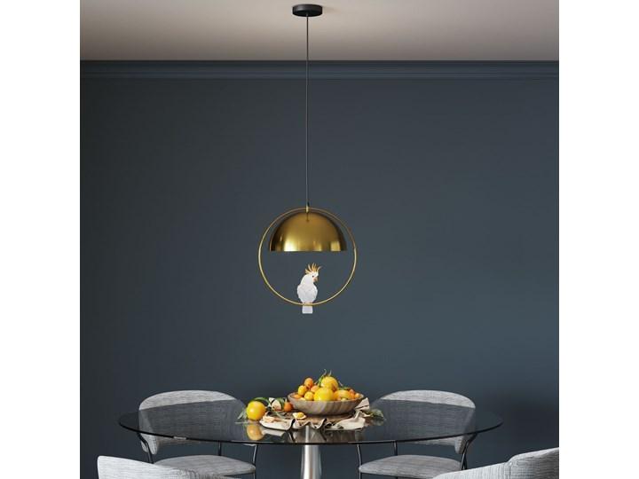 Lampa wisząca Cockatoo 46x60 cm złota Kolor Złoty