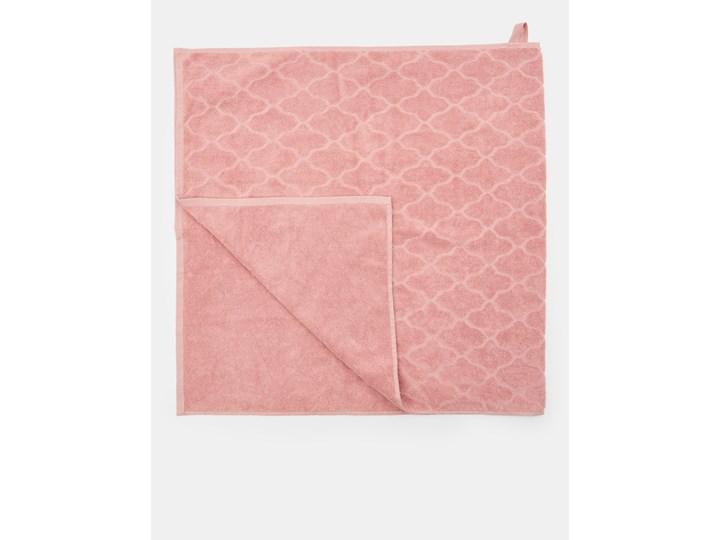 Sinsay - Ręcznik bawełniany - Różowy 70x140 cm Bawełna Kategoria Ręczniki