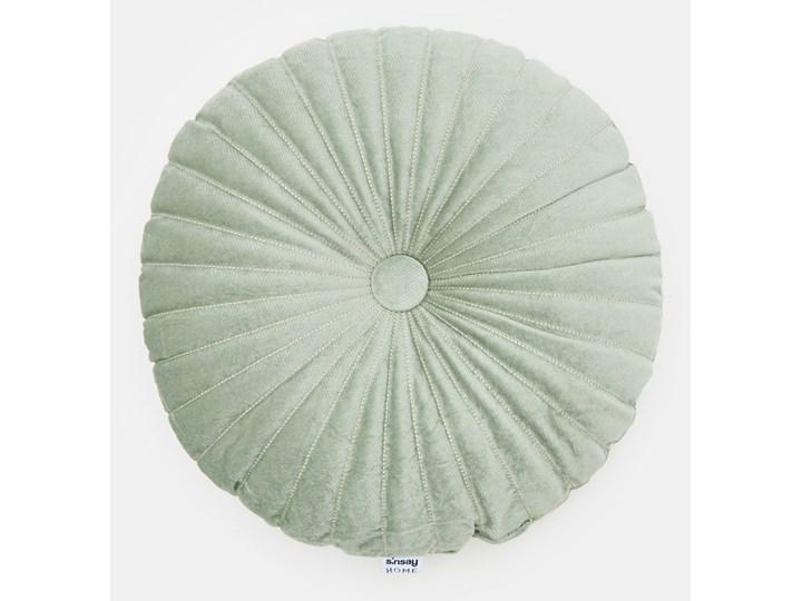 Sinsay - Poduszka dekoracyjna - Zielony Okrągłe Pomieszczenie Salon