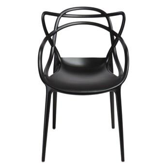 SELSEY Krzesło Lexi czarne