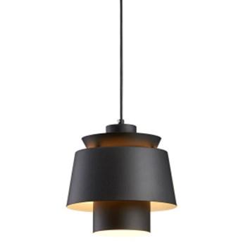 Herning Black - nowoczesna lampa wisząca czarna