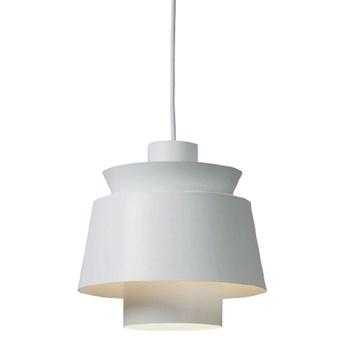 Herning White - nowoczesna lampa wisząca biała