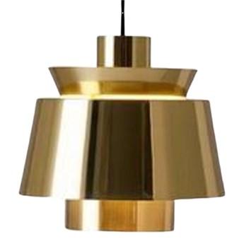 Herning Brass - nowoczesna lampa wisząca mosiądz