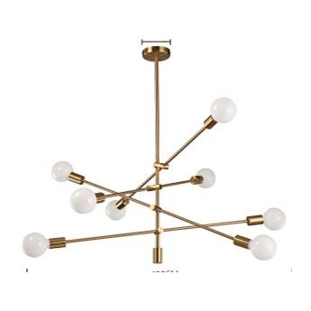 Orbital sticks 8 - żyrandol nowoczesny 8-punktowy