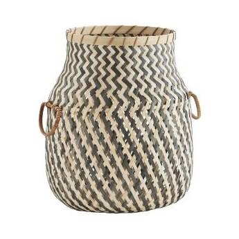 Madam Stoltz - Kosz bambusowy