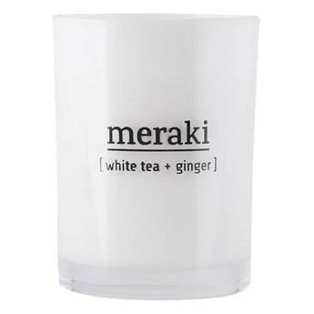 Świeca zapachowa sojowa Biała Herbata i Imbir MERAKI
