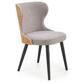 Krzesło Tapicerowane do Jadalni Loft K452 Szare