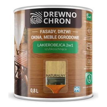 Lakierobejca 2w1 naturalny Drewnochron