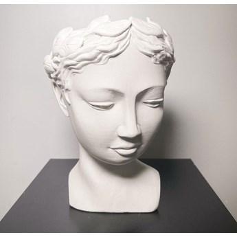 Doniczka ozdobna rzymska bogini Wenus (Kolor: Czarny)