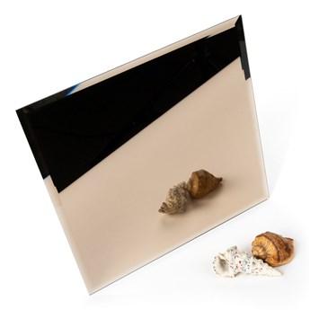 Płytka lustrzana fazowana brązowa kwadrat 30x30cm