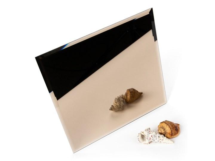 Płytka lustrzana fazowana kwadrat brązowy 353,6mm x 353,6mm
