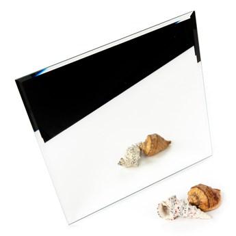 Płytka lustrzana fazowana srebrna kwadrat 30x30cm