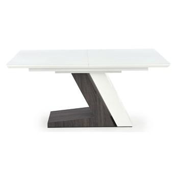 Nowoczesny stół na dwukolorowej podstawie Mortis