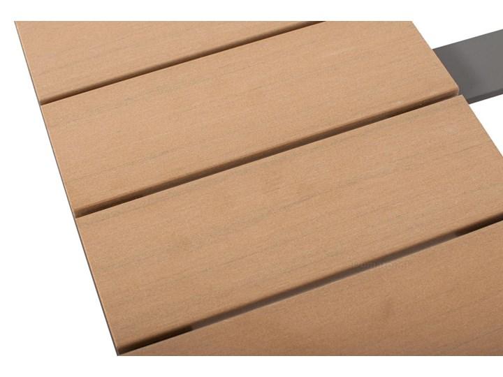 Narożnik ogrodowy aluminiowy BALI szaro-brązowy Aluminium Styl Nowoczesny Zestawy wypoczynkowe Zawartość zestawu Stolik