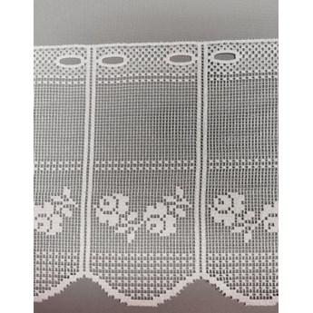 Zazdrostka panelowa żakardowa w kwiaty 344220 wys. 30cm