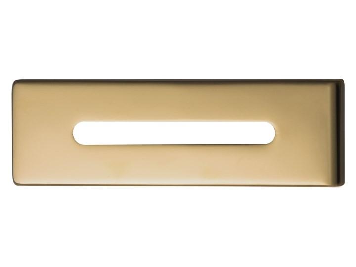 Wanna przyścienna wolnostojąca Corsan E030 Mono 160 cm z wykończeniem różowe złoto Stal Kolor Złoty Akryl Wolnostojące Kolor Różowy