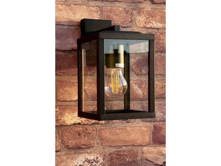 Lampa ogrodowa kinkiet elewacyjny GAIA S BLACK E27 czarny IP44 EDO777370 EDO Garden Line Kinkiet ogrodowy Kategoria Lampy ogrodowe