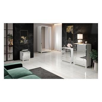 BELLAGIO, zestaw mebli do sypialni z lustrzanymi frontami