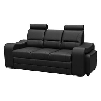 Ekskluzywna sofa WENUS 225x93 z regulowanymi zagłówkami i pufą