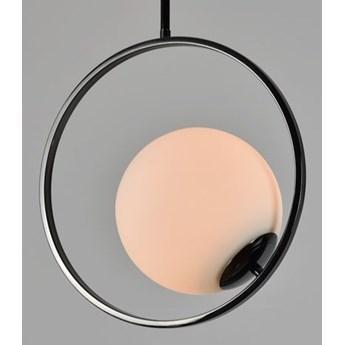 MCODO ::  Lampa sufitowa Bella w kolorze czarnym chromowana
