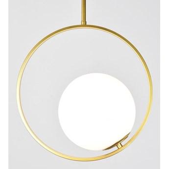 MCODO ::  Minimalistyczna złota lampa Bella glamour