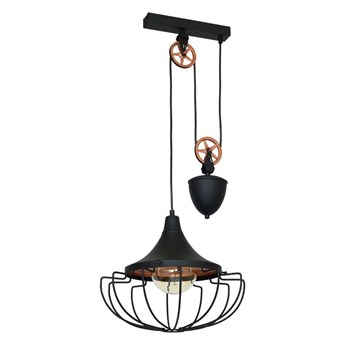 Lampa wisząca DANTON II BLACK M 902G1/M ALDEX 902G1/M