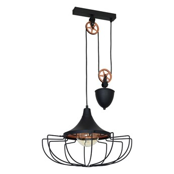 Lampa wisząca DANTON II BLACK L 902G1/L ALDEX 902G1/L