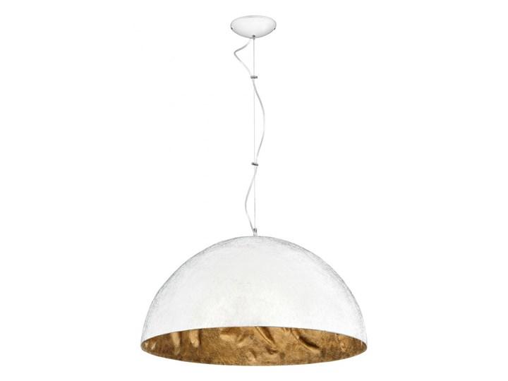 Lampa wisząca SIMI 3 WHITE L 766E ALDEX 766E Lampa z kloszem Tworzywo sztuczne Metal Pomieszczenie Salon