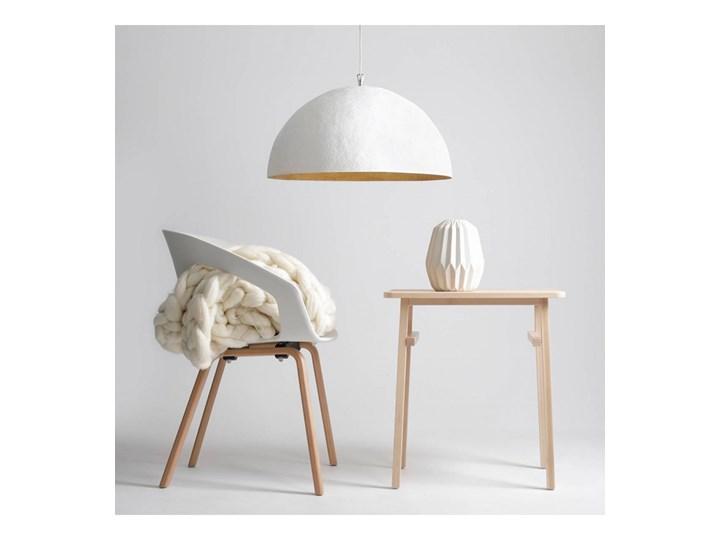 Lampa wisząca SIMI 3 WHITE L 766E ALDEX 766E Metal Funkcje Brak dodatkowych funkcji Lampa z kloszem Tworzywo sztuczne Pomieszczenie Salon