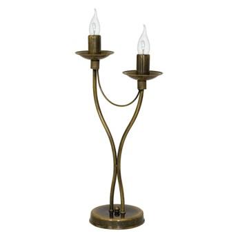 Lampa stołowa RÓŻA 2 OLD GOLD 397B26/M ALDEX 397B26/M